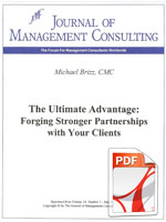 The ultimate Advantage: Forging Stronger Partnerships with Your Clients